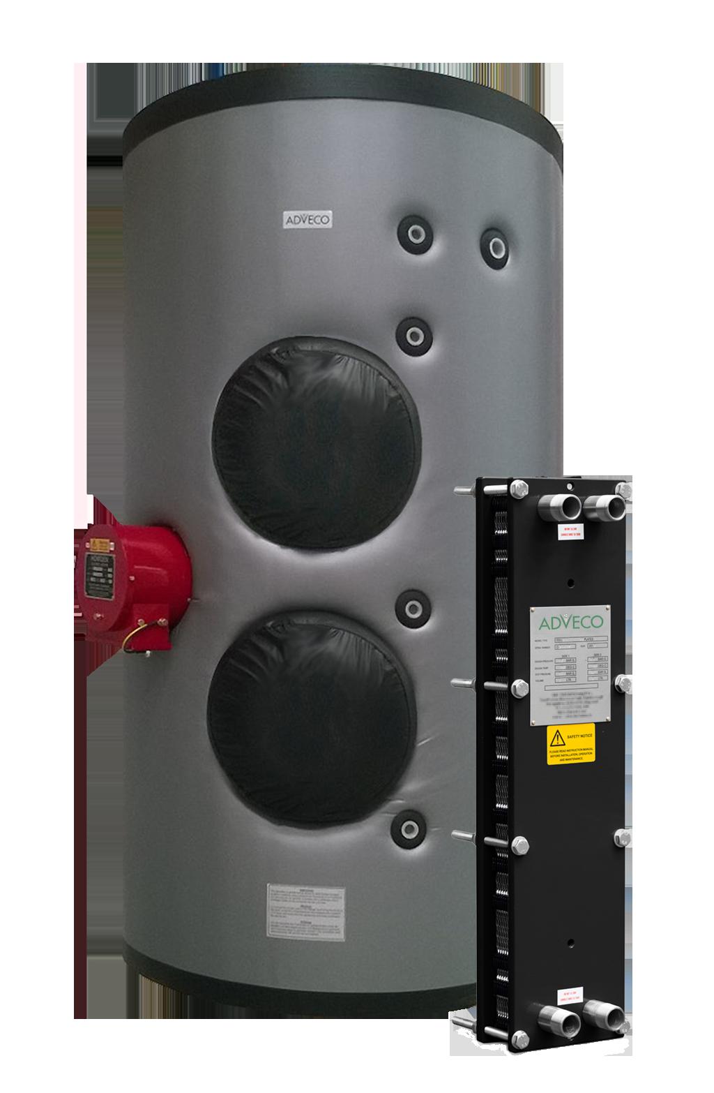 Adveco Heatex Packaged Plate Heat Exchanger