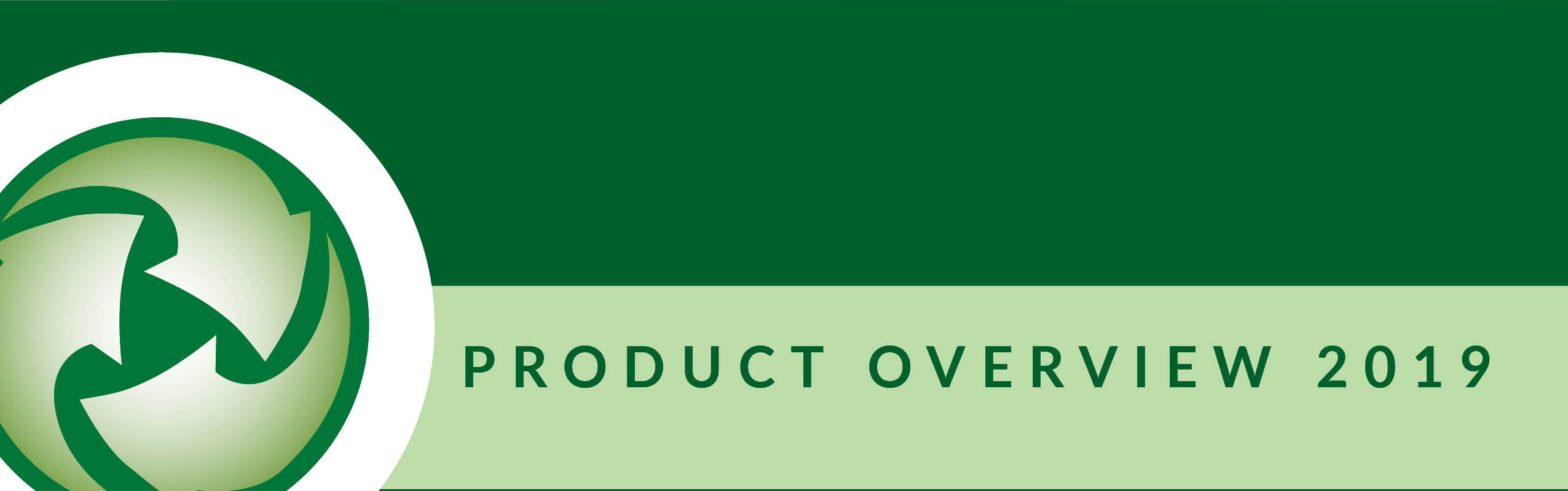 Adveco 2019 product brochure banner