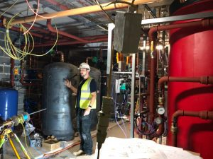 Adveco designs CHP system for veteran's care accommodations (Thermal storage tanks, boilers)