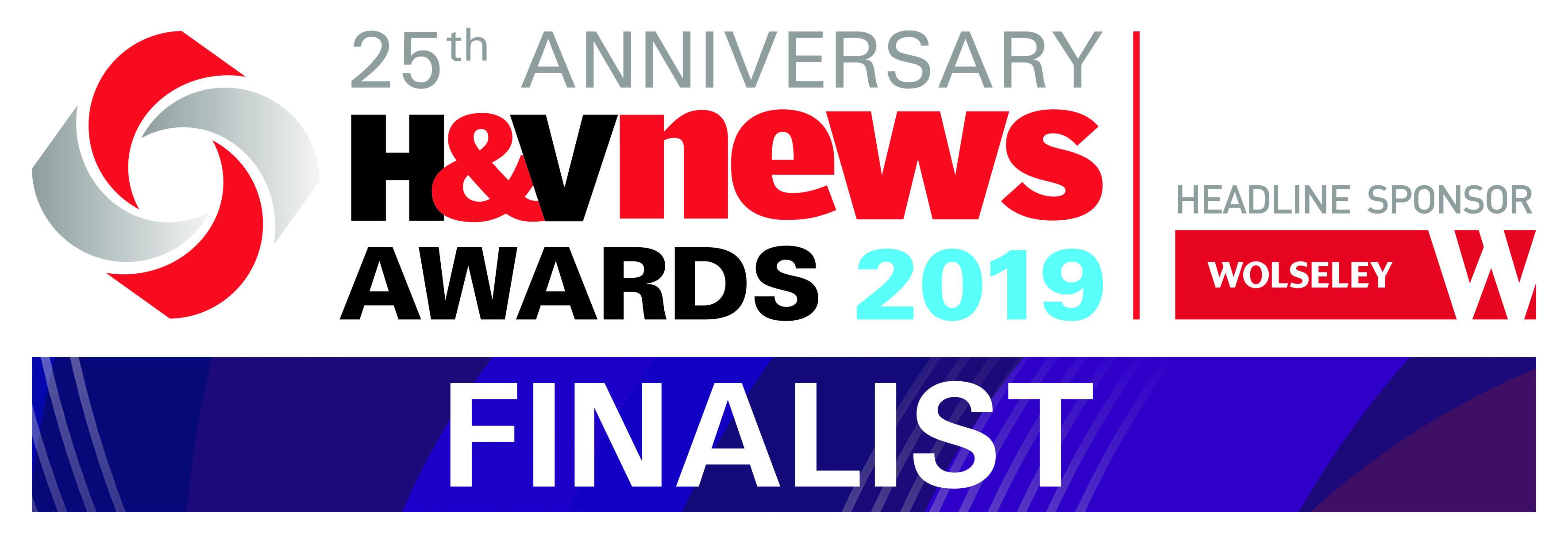 H&V News Awards Finalist 2019.