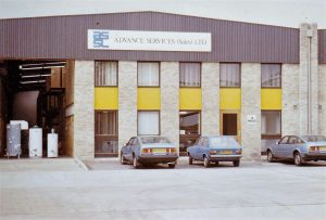 Timeline 1998 Weybridge Office