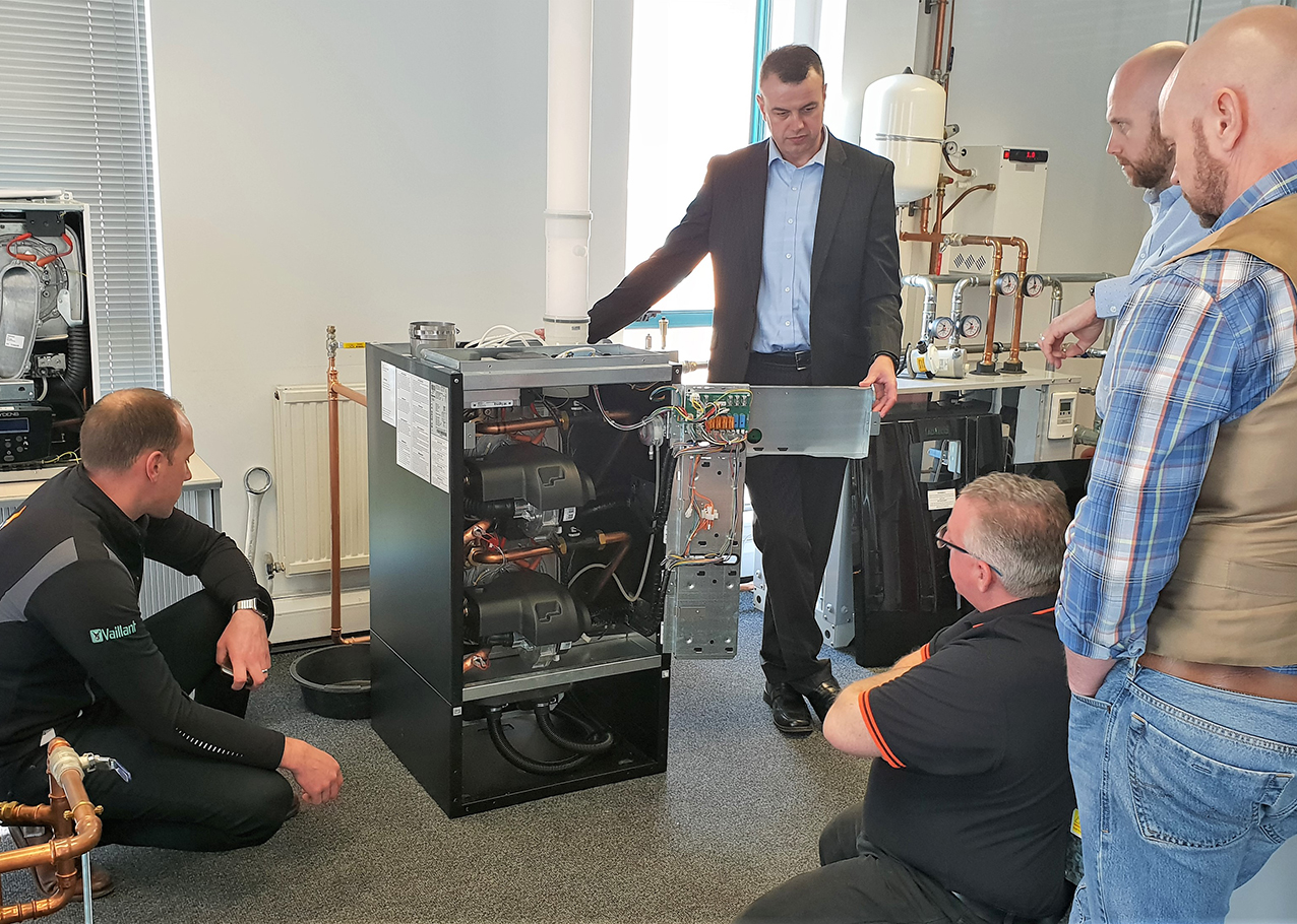 MD boiler training session