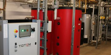 Totem CHP Unit (Combined Heat and Power).