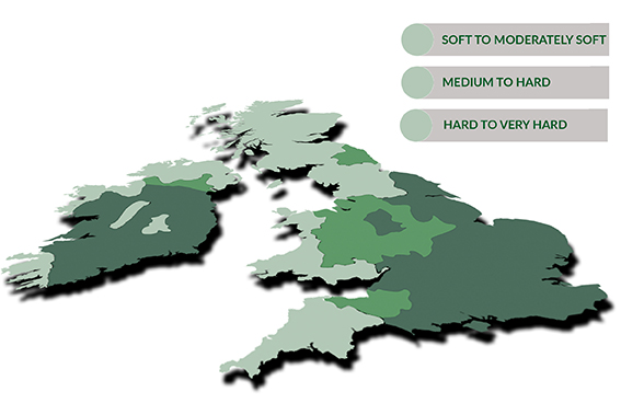 Corrosion in Commercial Heating and Hot water Systems - Hard and soft water areas of the United Kingdom and Ireland