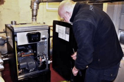 Commercial hot water installation for London Fire Brigade.