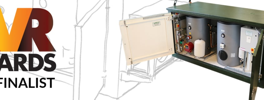 Adveco's Packaged e-Hot Water System Named Finalist in 2020 HVR Awards.