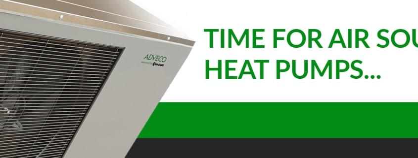 Time for Air Source Heat Pumps (ASHP).