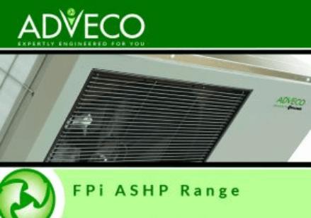 FPi commercial Air Source Heat Pumps (ASHP).