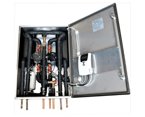 HR001 heat recovery unit. Hot water from waste heat.