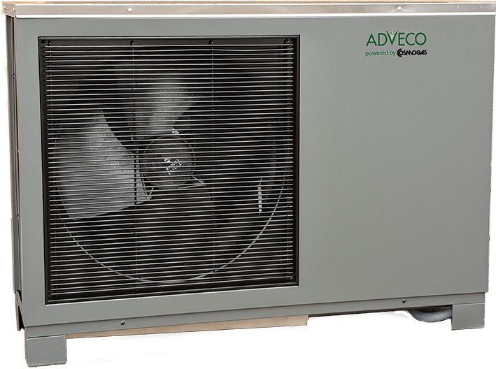FPi32 commercial Air Source Heat Pumps (ASHP).