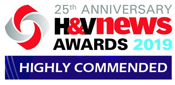 H&V News Awards 2019. Highly commended.
