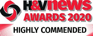 H&V News Awards 2020 - Highly Commended