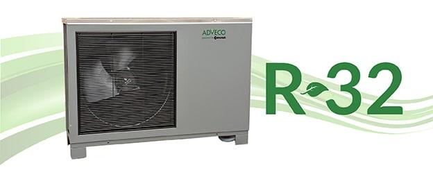 R32 Air Source Heat Pump (ASHP).