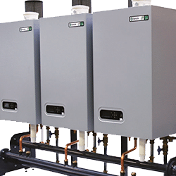 UB upsilon wall-mounted efficient commercial boilers.