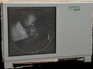 R32 commercial Air Source Heat Pump (ASHP).