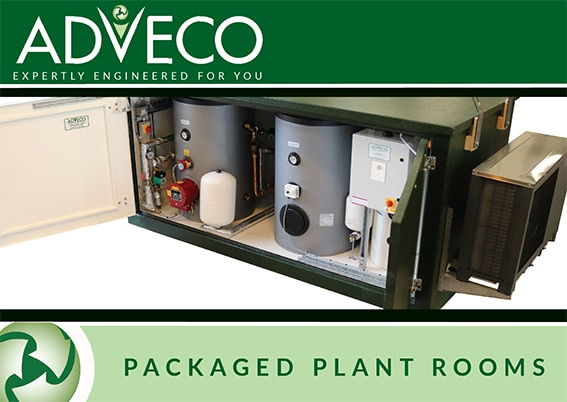 Packaged plant rooms brochure - 2021 cover.