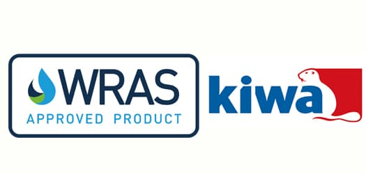 Kiwa WRAS approved product