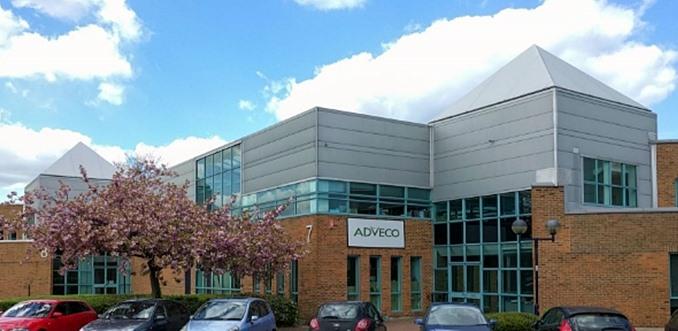 Adveco HQ, Southwood, Farnborough,  Hampshire, UK.